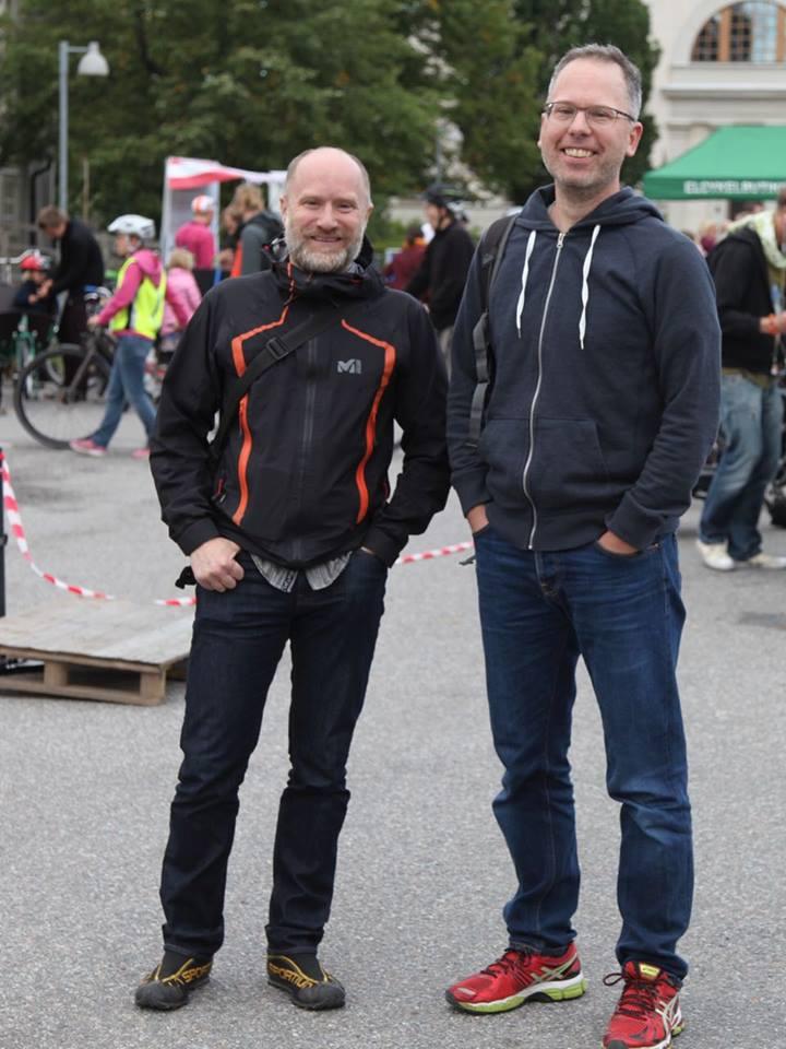 Jeroen och Christian, september 2015. Foto: Jon Jogensjö