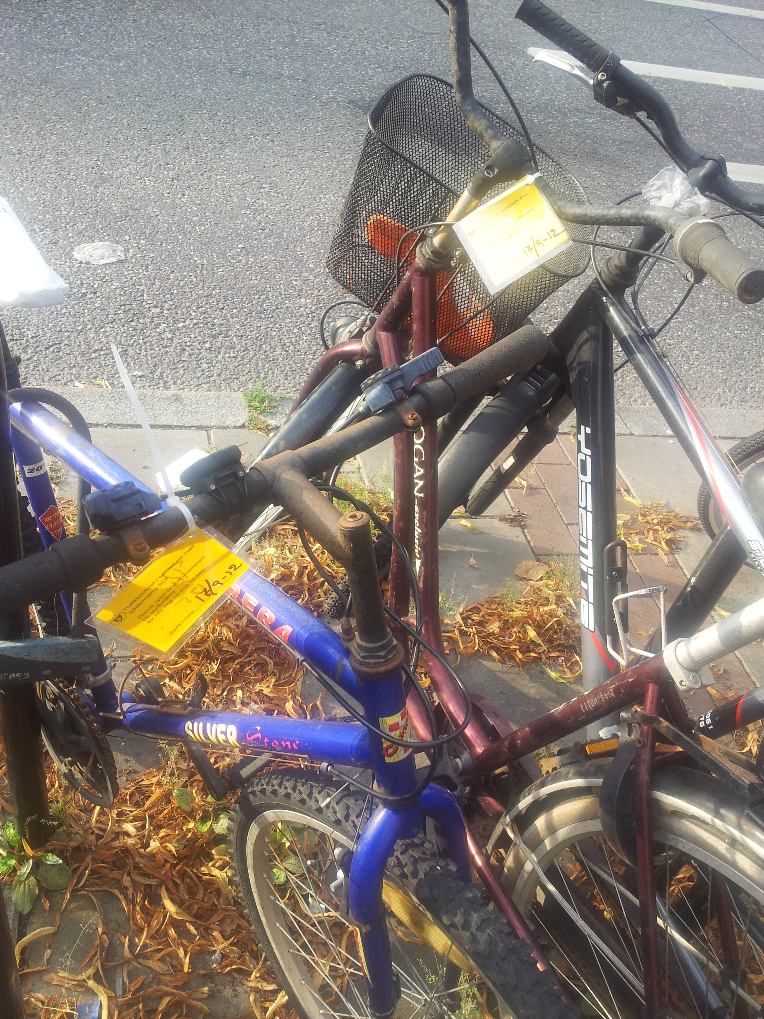 Lappade cyklar