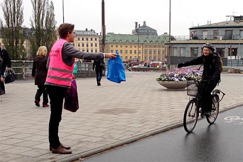 """Dags för det första av årets """"Tack för att du cyklar"""" event."""