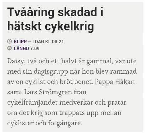 hetskt cykelkrig