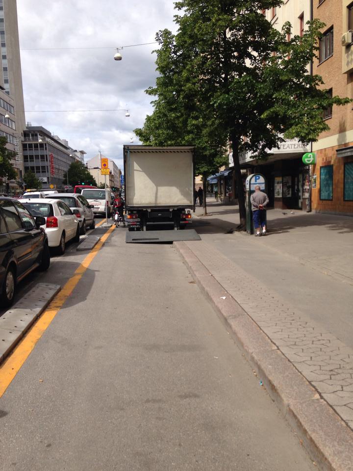 Götgatanlastbil Fredrik Jönsson