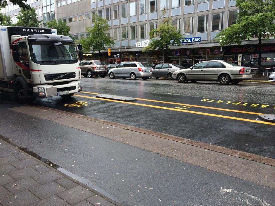 Götgatanlastbil Ulrika Lind