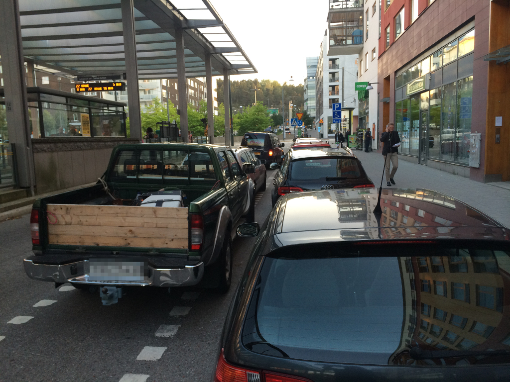 Lugnets alle parkering