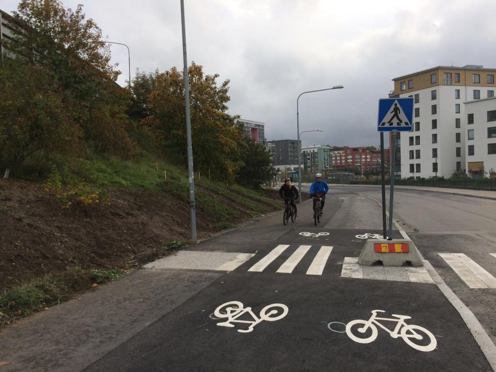 Kanalvägen pendlingsstråk 011