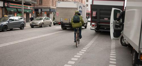 En cykeltur i den friska stockholmsluften.
