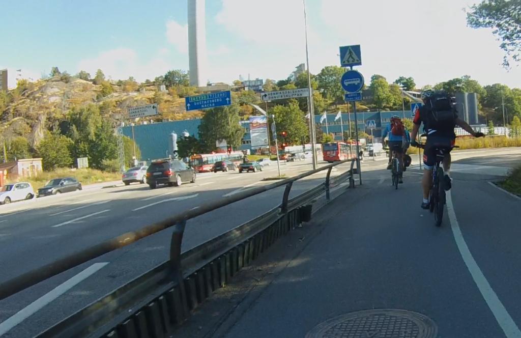 Henriksdal - perfekt för infartscykelparkering