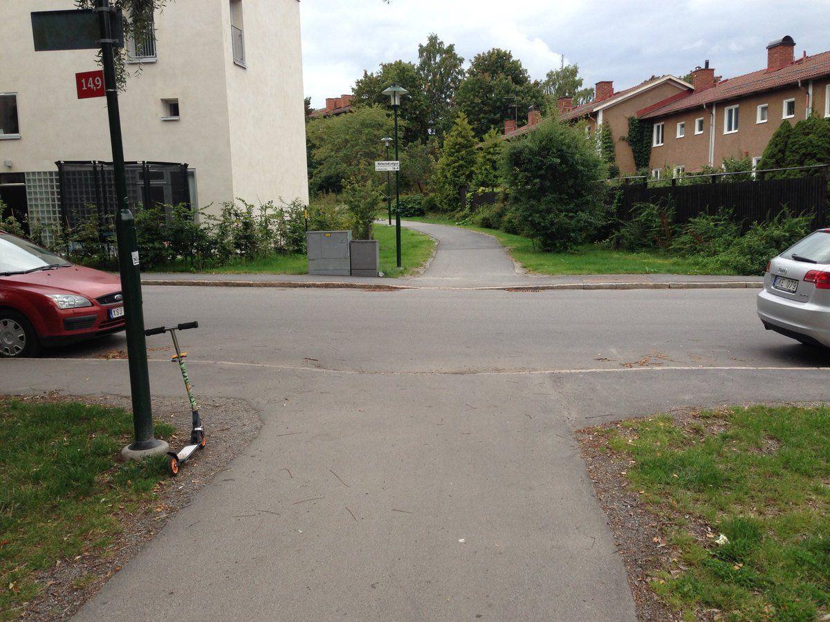 Snart blir det ytterligare lite sämre när cyklister ska korsa vägar.