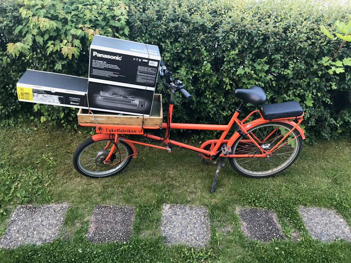 En 35 kilo tung, orange lyckad kompromiss – recension av Cykelfabriken Filibus Plus