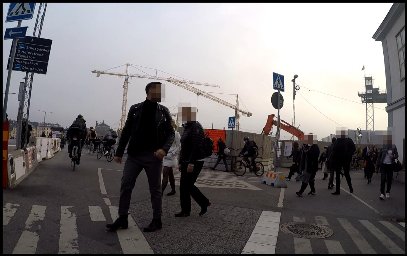 Alltså, cyklisterna vid Slussen...