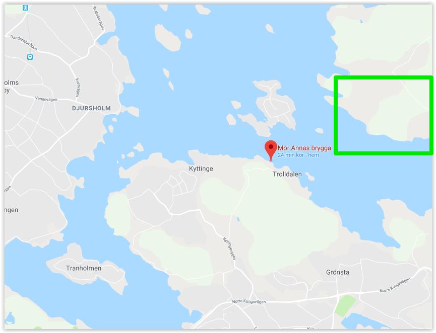 Dags för färja mellan Vaxholm och Lidingö