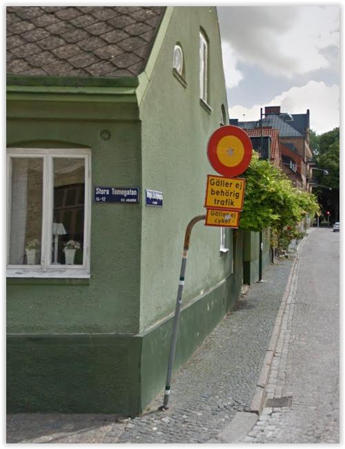 Även Trafikverket gör som Stockholms Stad - och skyltar förbud med undtantag.